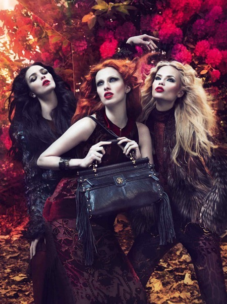 CAMPAIGN Mariacarla Boscono, Karen Elson & Natasha Poly for Roberto Cavalli Fall 2011 by Mert & Marcus. Panos Yiapanis, www.imageamplified.com, Image Amplified (4)