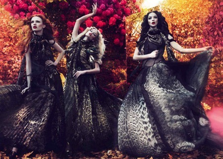 CAMPAIGN Mariacarla Boscono, Karen Elson & Natasha Poly for Roberto Cavalli Fall 2011 by Mert & Marcus. Panos Yiapanis, www.imageamplified.com, Image Amplified (5)