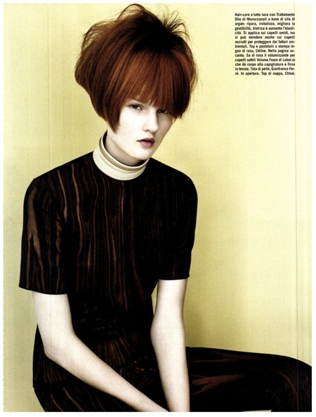 VOGUE ITALIA Kirsi Pyrhonen by Josh Olins. Cathy Kasterine, August 2011, www.imageamplified.com, Image Amplified (3)