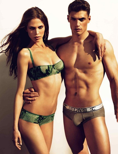 CAMPAIGN Aymeline Valade & Stelios Niakaris for Just Cavalli Fall 2011 by Mert & Marcus. www.imageamplified.com, Image Amplified (4)