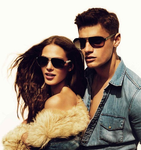 CAMPAIGN Aymeline Valade & Stelios Niakaris for Just Cavalli Fall 2011 by Mert & Marcus. www.imageamplified.com, Image Amplified (2)