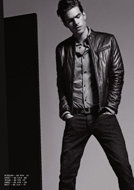 CAMPAIGN Jon Kortajarena for Armani Jeans Fall 2011. www.imageamplified.com, Image Amplified (12)