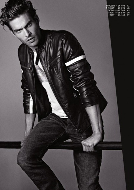 CAMPAIGN Jon Kortajarena for Armani Jeans Fall 2011. www.imageamplified.com, Image Amplified (13)