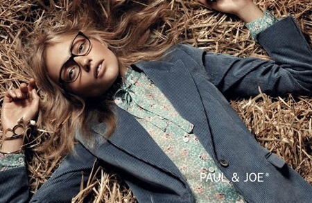 CAMPAIGN Sasha Pivovarova & Adrian Bosche for Paul & Joe Fall 2011. www.imageamplified.com, Image Amplified (4)