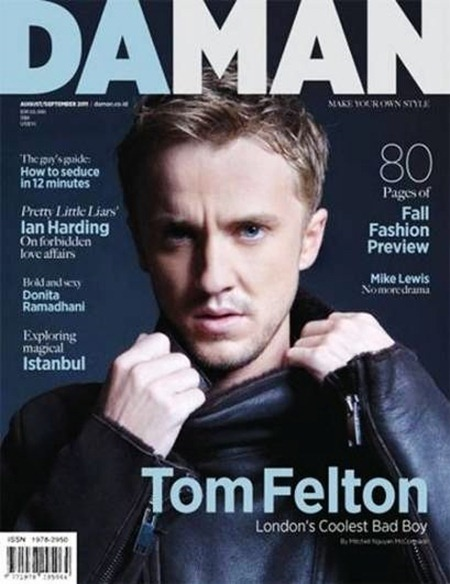 DAMAN MAGAZINE Tom Felton in Born to be Bad by Michael Nguyen McCormack. Ashley Phan-Weston, September 2011, www.imageamplified.com, Image Amplified (6)