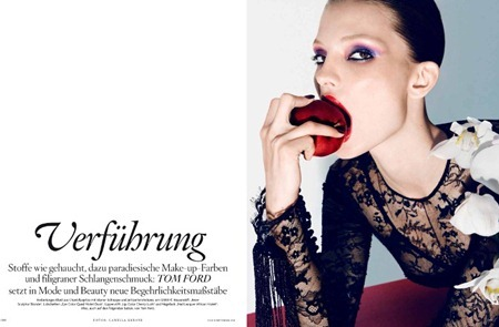 VOGUE GERMANY Carola Remer in Tom Ford by Camilla Akrans. September 2011, www.imageamplified.com, Image Amplified (3)