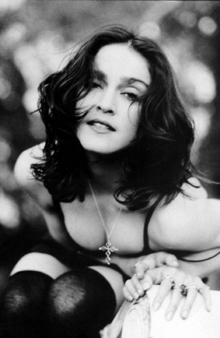 WE ♥ MADONNA Madonna in Like A Prayer Shoot by Herb Ritts. 1989 www.imageamplified.com, Image Amplified (4)