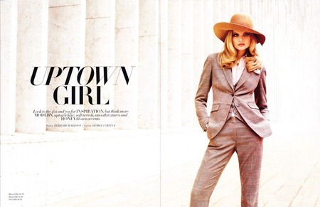H&M MAGAZINE Magdalena Frackowiak in Uptown Girl by Terry Richardson. George Cortina, www.imageamplified.com, Image Amplified (13)