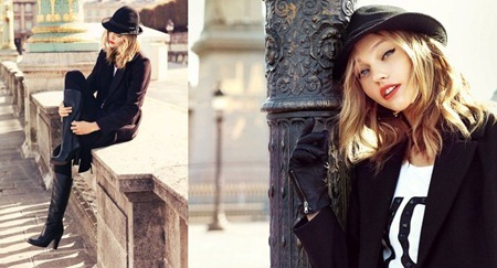 CAMPAIGN Sasha Pivovarova for Reserved Fall 2011. www.imageamplified.com, Image Amplified (9)