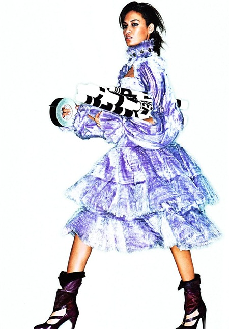 ELLE UK Joan Smalls in Everyone's Talking About Joan by Alexei Hay. Anne-Marie Curtis, October 2011, www.imageamplified.com, Image Amplified (2)