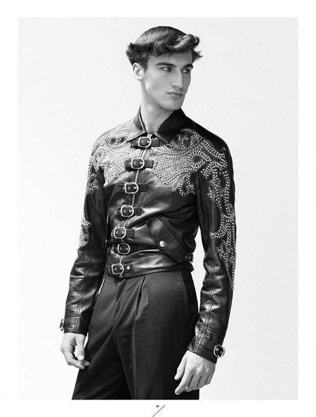 VARON MAGAZINE Jordan Taylor, Alf Hilton, Charlie Timms & Val in Versace by Thomas Lohr. Spring 2012, www.imageamplified.com, Image Amplified (8)