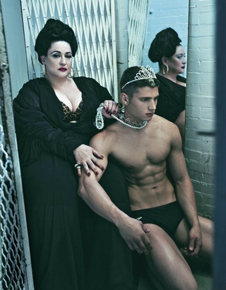 V MAN MAGAZINE The Contender by Steven Klein. Nicola Formichetti, www.imageamplified.com, Image Amplified (3)