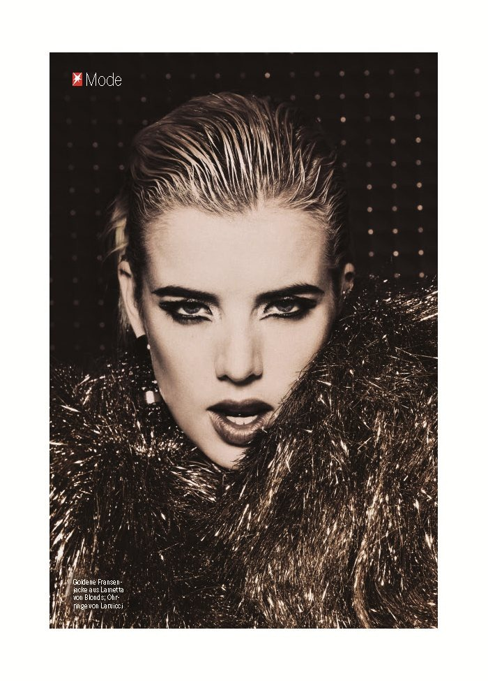 STERN MAGAZINE Agyness Deyn by Damon Baker. September 2011, Brett Bailey, www.imageamplified.com, Image Amplified (5)