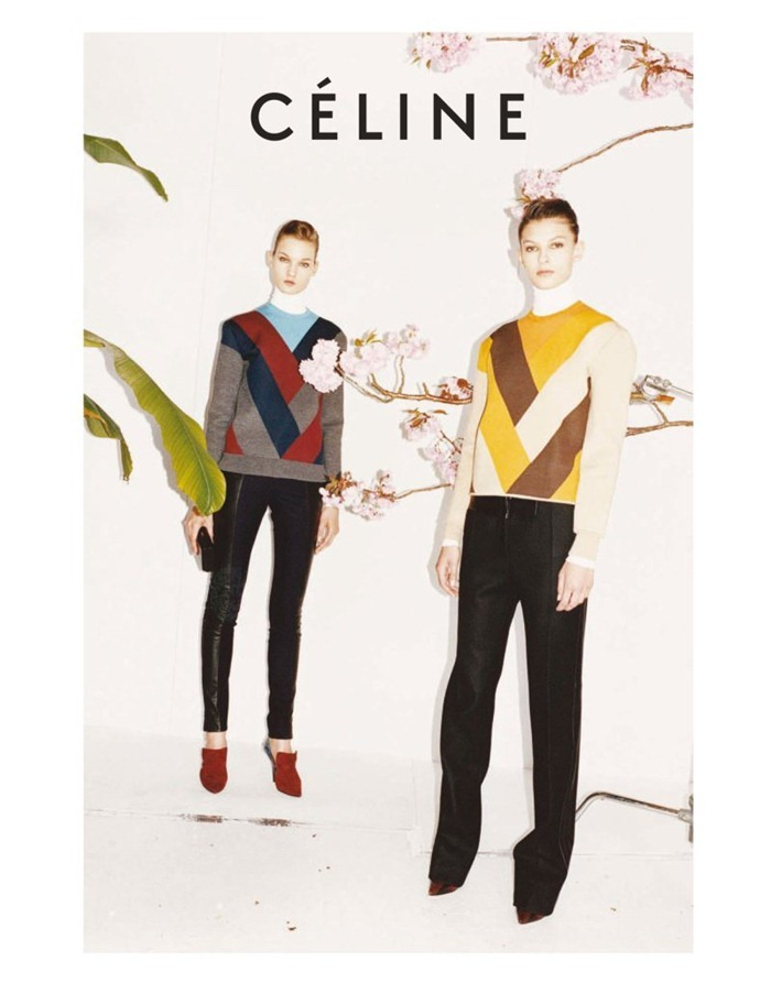 CAMPAIGN Emilia Nawarecka, Kirsi Pyrhonen & Monika Sawicka for Celine Fall 2011 by Juergen Teller. www.imageamplified.com, Image Amplified (7)