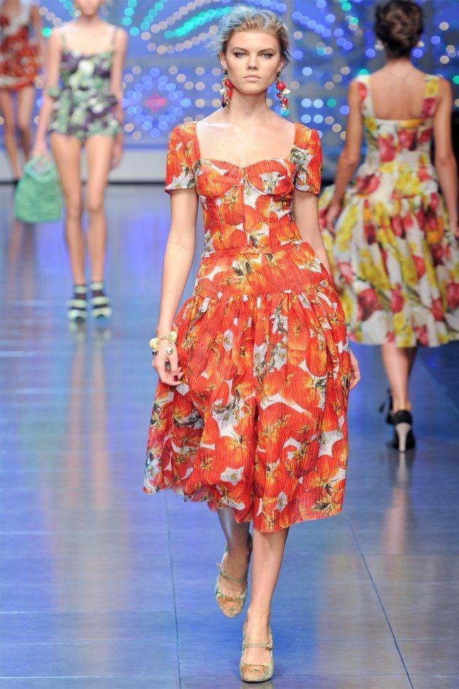 MILAN FASHION WEEK Dolce & Gabbana Spring 2012. www.imageamplified.com, Image Amplified (3)