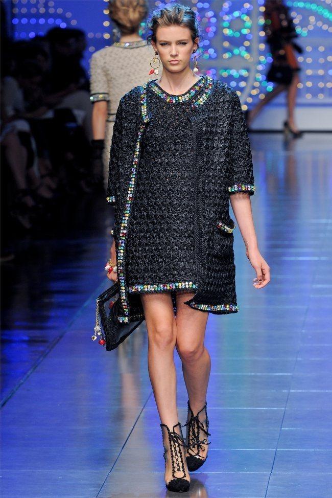 MILAN FASHION WEEK Dolce & Gabbana Spring 2012. www.imageamplified.com, Image Amplified (47)