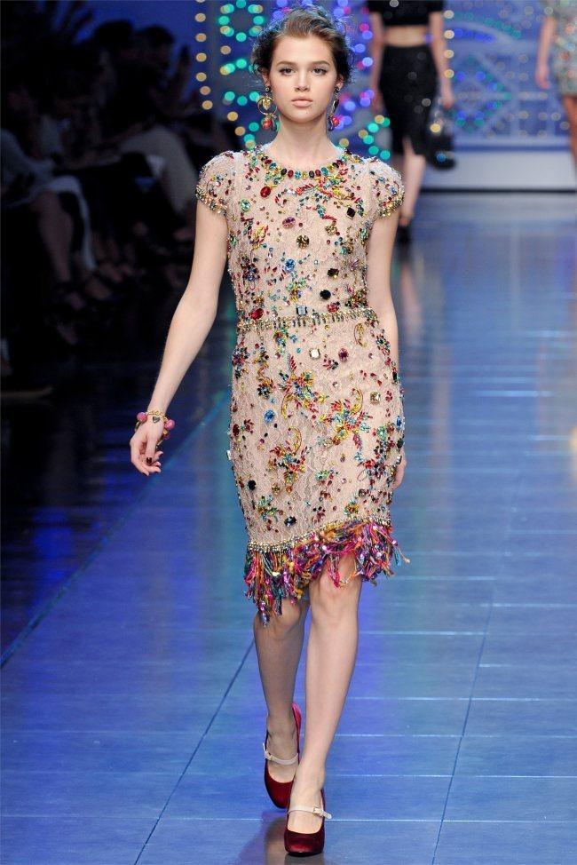 MILAN FASHION WEEK Dolce & Gabbana Spring 2012. www.imageamplified.com, Image Amplified (69)