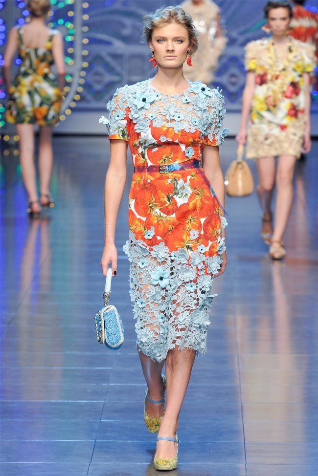MILAN FASHION WEEK Dolce & Gabbana Spring 2012. www.imageamplified.com, Image Amplified (23)