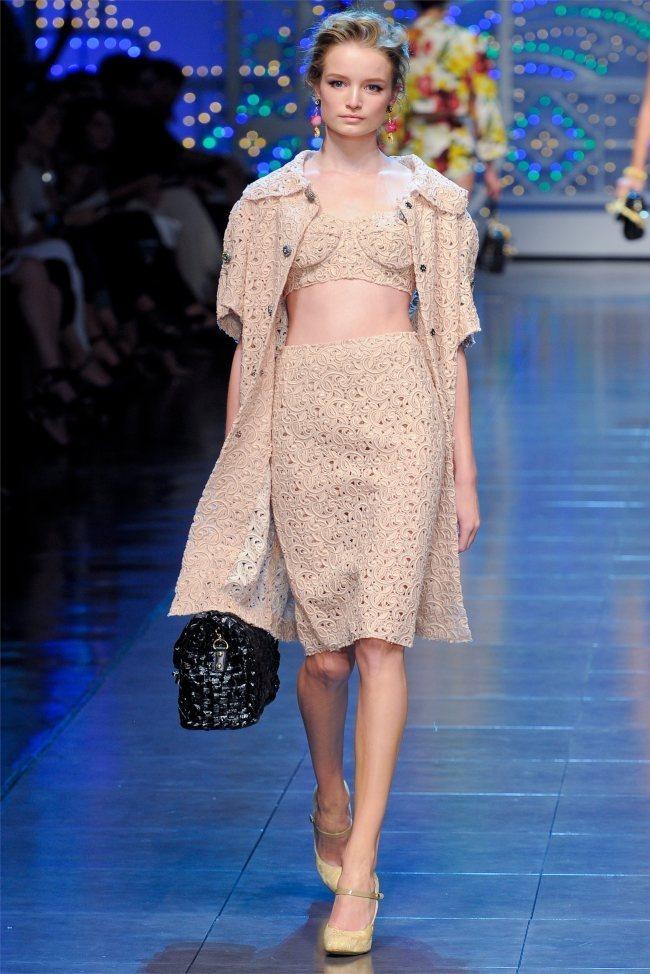 MILAN FASHION WEEK Dolce & Gabbana Spring 2012. www.imageamplified.com, Image Amplified (35)