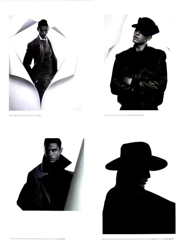 "NUMERO MAGAZINE Baptiste Giabiconi ""Série Noire"" by Karl Lagerfeld. www.imageamplified.com, Image Amplified (2)"