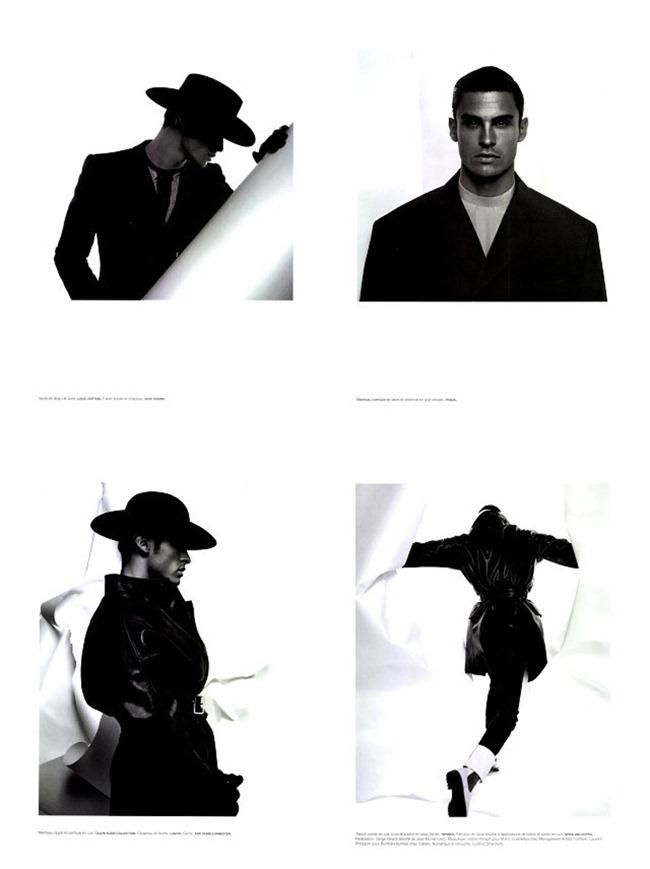 "NUMERO MAGAZINE Baptiste Giabiconi ""Série Noire"" by Karl Lagerfeld. www.imageamplified.com, Image Amplified (3)"