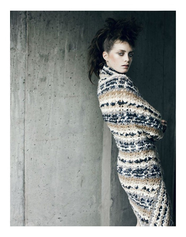 TUSH MAGAZINE Milly Simmonds by Signe Vilstrup. Fall 2011, Wiebke Bredehorst, www.imageamplified.com, Image Amplified (1)