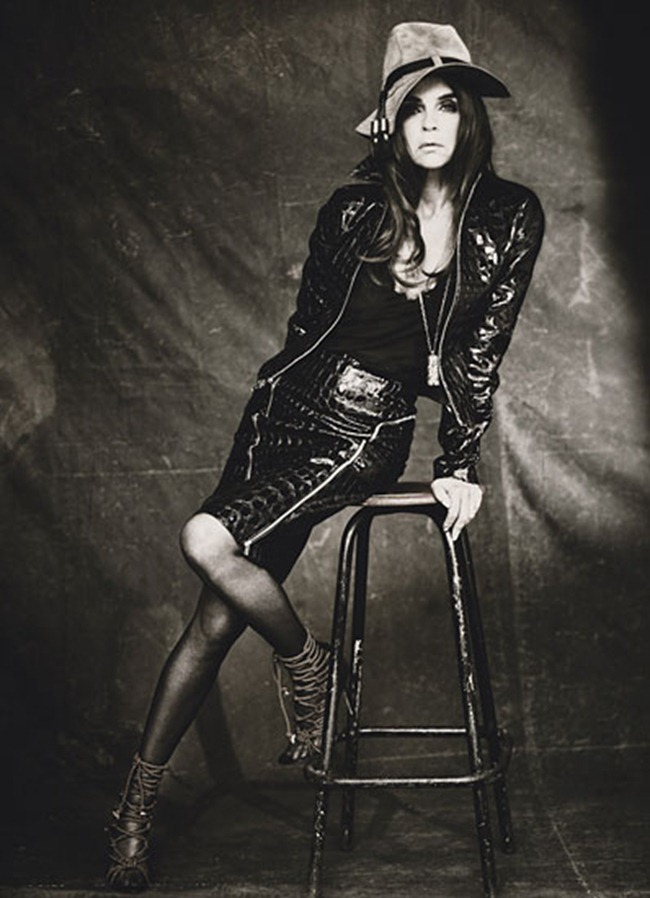 W MAGAZINE Carine Roitfeld in The One and Only by Paolo Roversi. October 2011, www.imageamplified.com, Image Amplified