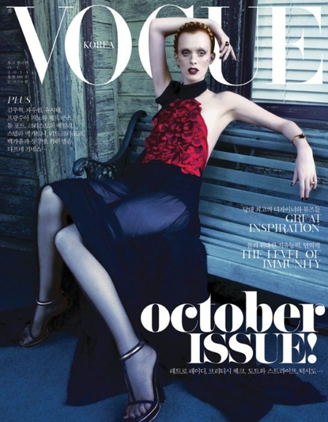 VOGUE KOREA Karen Elson by Rafael Stahelin. Ye Young Kim, October 2011, www.imageamplified.com, Image Amplified (6)