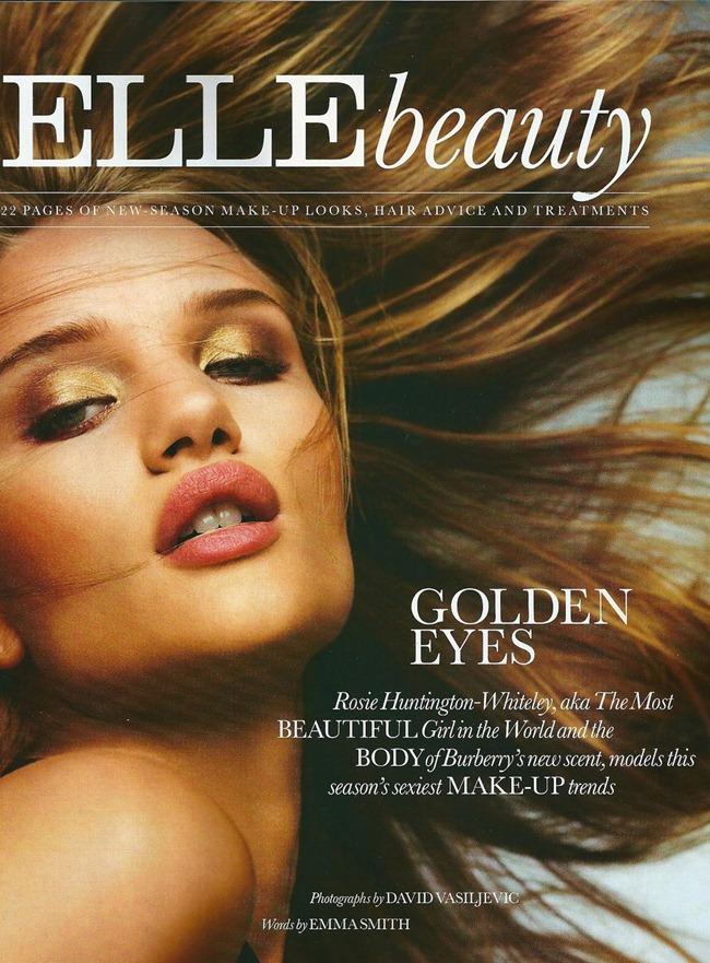 ELLE UK Rosie Huntington-Whiteley in Golden Eyes by David Vasiljevic. Natalie Wansbrough-Jones, October 2011, www.imageamplified.com, Image Amplified (7)