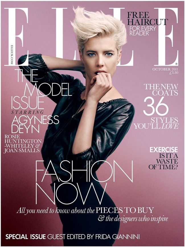 ELLE UK Agyness Deyn in True Brit by David Slijper. Sasa Thomann, October 2011, www.imageamplified.com, Image Amplified (8)