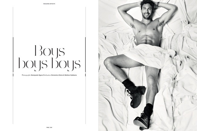 ANTIDOTE MAGAZINE Boys Boys Boys by Giampaolo Sgura. Domenico Dolce, Stefano Gabbana, www.imageamplified.com, Image Amplified (12)