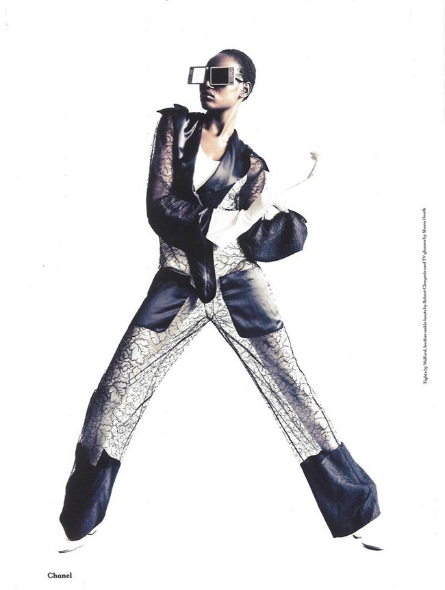 ANOTHER MAGAZINE Ajak Deng by Paolo Roversi. Cathy Edwards, Fall 2011, www.imageamplified.com, Image Amplified (4)