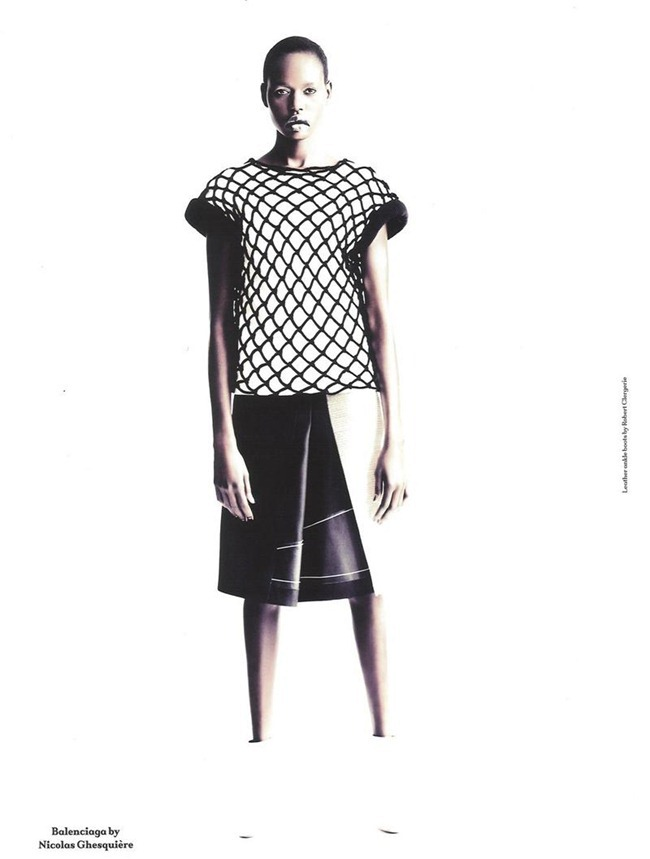ANOTHER MAGAZINE Ajak Deng by Paolo Roversi. Cathy Edwards, Fall 2011, www.imageamplified.com, Image Amplified (7)
