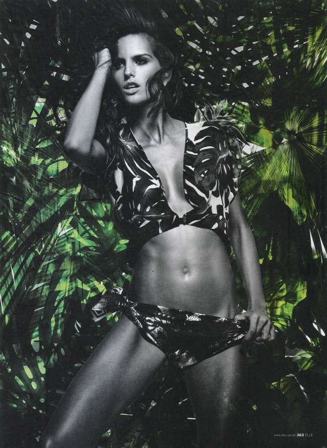 ELLE BRAZIL Izabel Goulart in Savage Beauty by Gui Paganini. Susan Barbosa, September 2011, www.imageamplified.com, Image Amplified (8)