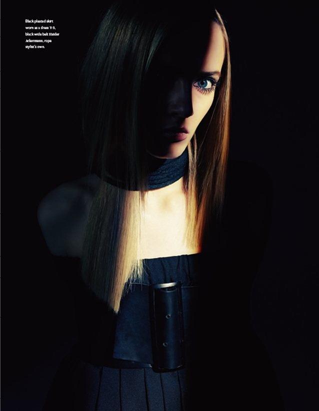 BON MAGAZINE Daria Strokous in Darkly Decadent by Steven Pan. Tom van Dorpe, Fall 2011, www.imageamplified.com, Image Amplified (7)