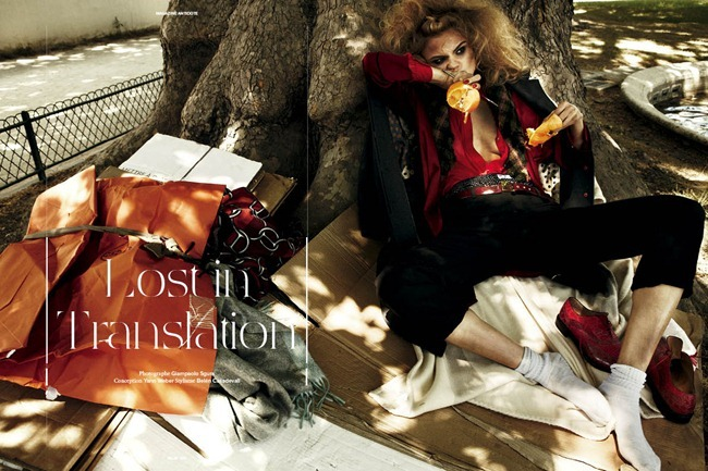 ANTIDOTE MAGAZINE Magdalena Frackowiak in Lost in Translation by Giampaolo Sgura. Fall 2011, Belén Casadevall, www.imageamplified.com, Image Amplified (2)