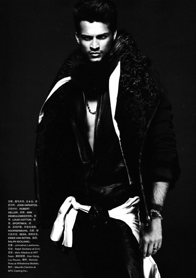 NUMERO HOMME CHINA Romulo Pires by Yin Chao. Johnathan Lawhorne, Fall 2011, www.imageamplified.com, Image Amplified (13)
