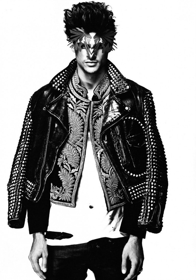 NUMERO HOMME CHINA Romulo Pires by Yin Chao. Johnathan Lawhorne, Fall 2011, www.imageamplified.com, Image Amplified (2)