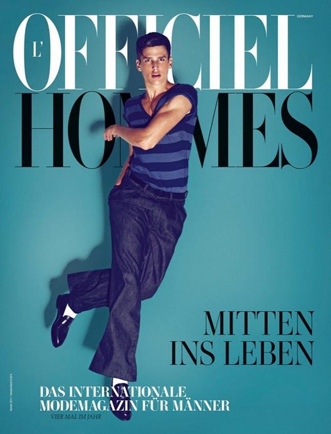L'OFFICIEL HOMMES GERMANY Simon van Meervenne by Koray Birand. Lale Aktay, Fall 2011, www.imageamplified.com, Image Amplified (6)