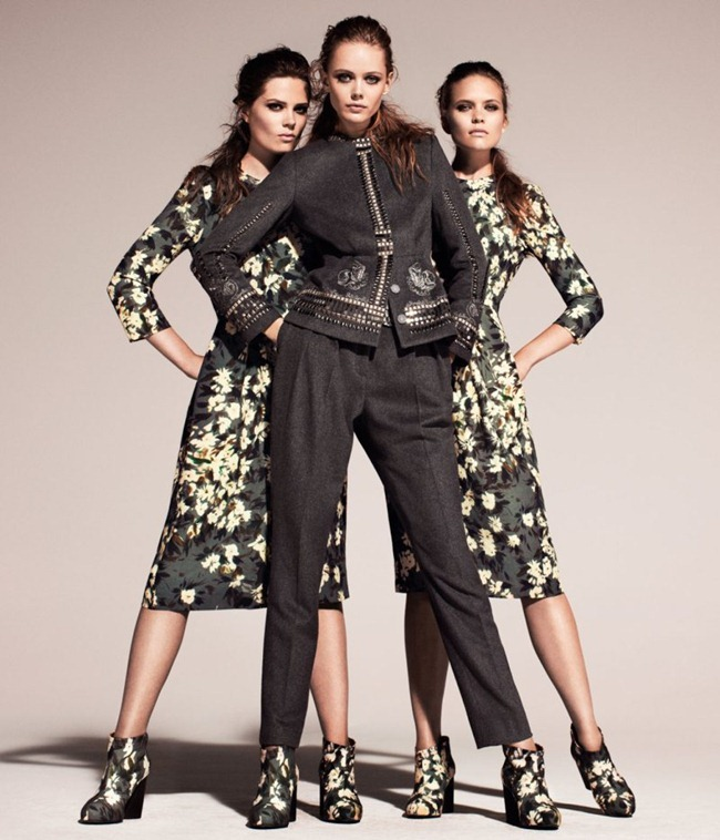 CAMPAIGN Frida Gustavsson & Caroline Brasch Nielsen for H&M Conscious Fall 2011. www.imageamplified.com, Image Amplified (7)