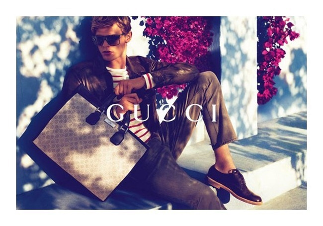 CAMPAIGN karmen Pedaru & Lenz von Johnston for Gucci Cruise 2012 by Mert & Marcus. www.imageamplified.com, Image Amplified (9)