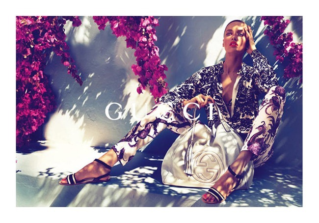 CAMPAIGN karmen Pedaru & Lenz von Johnston for Gucci Cruise 2012 by Mert & Marcus. www.imageamplified.com, Image Amplified (1)