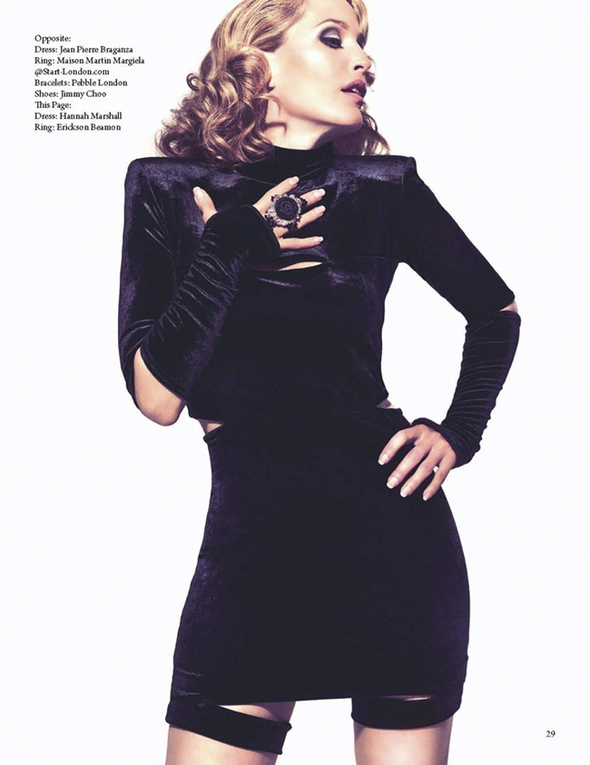 FAULT MAGAZINE Gillian Anderson by Squiz Hamilton. Claudia Behnke, Fall 2011, www.imageamplified.com, Image Amplified (4)