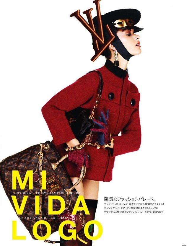VOGUE JAPAN- Crystal Renn in &%Mi Vida Logo&% by Giampaolo Sgura. Anna Dello Russo, November 2011, www.imageamplified.com, Image Amplified1