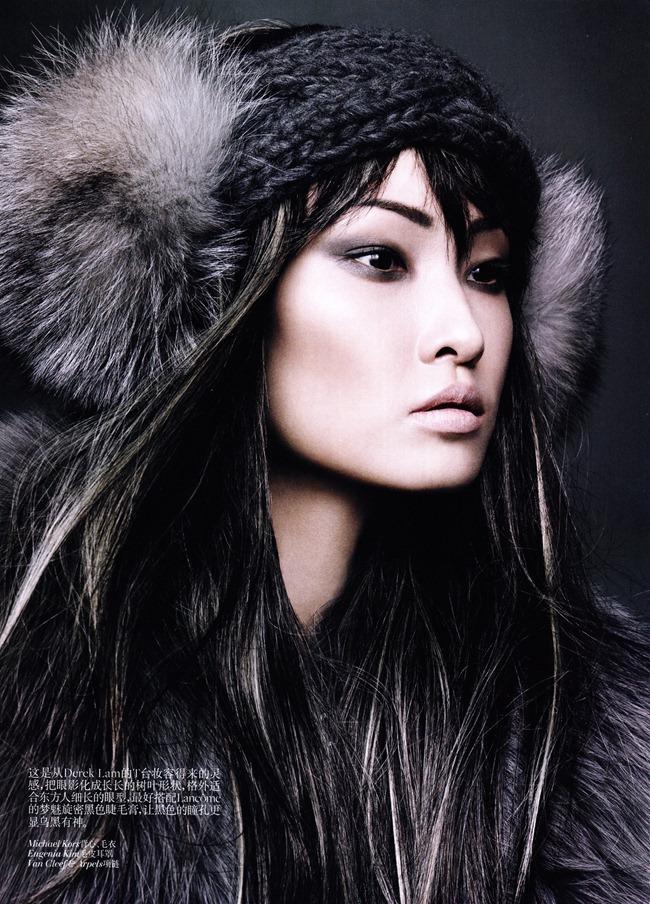 VOGUE CHINA- Wang Xiao in &%Grey Tone&% by Regan Cameron. Catherine Litke, November 2011, www.imageamplified.com, Image Amplified4