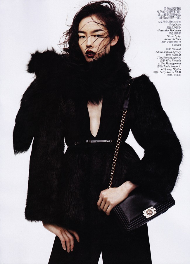 VOGUE CHINA- Fei Fei Sun in &%Black & White&% by Josh Olins. Alastair McKim, November 2011, www.imageamplified.com, Image Amplified2