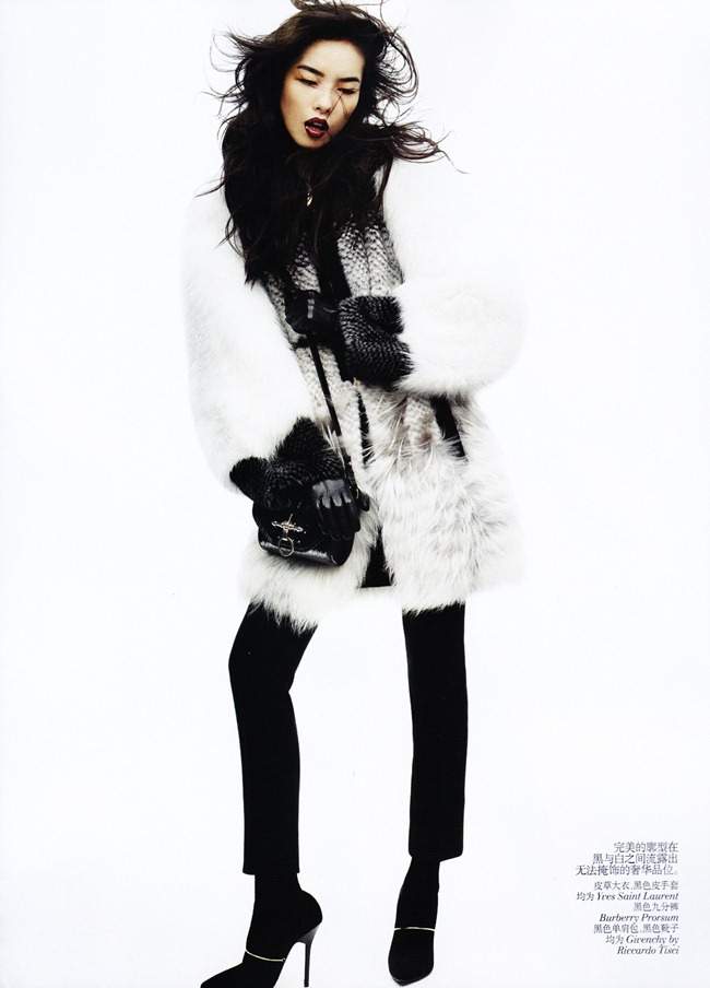 VOGUE CHINA- Fei Fei Sun in &%Black & White&% by Josh Olins. Alastair McKim, November 2011, www.imageamplified.com, Image Amplified6