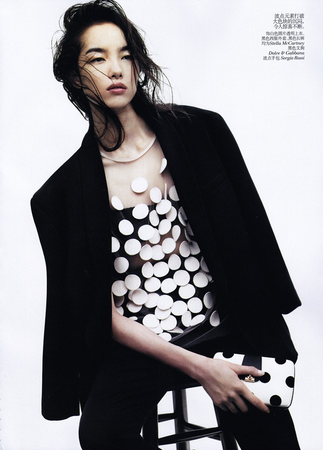 VOGUE CHINA- Fei Fei Sun in &%Black & White&% by Josh Olins. Alastair McKim, November 2011, www.imageamplified.com, Image Amplified8