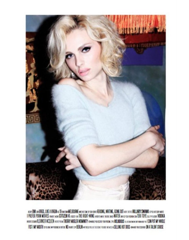 LOVECAT MAGAZINE- Andrej Pejic in &%Marilyn Off-Duty' by Jacob Dekat & Prince Chenoa. Patricia Field, www.imageamplified.com, Image Amplified4
