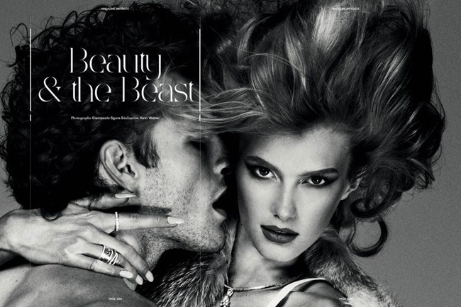 ANTIDOTE MAGAZINE- Sigrid Agren & Parker Gregory in &%Beauty & the Beast&% by Giampaolo Sgura. Fall 2011, Yann Weber, www.imageamplified.com, Image Amplified3